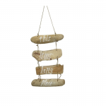 Wanddecoratie | Hout | Don't forget to smile