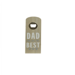 Flessenopener | Hout | Dad you are best |